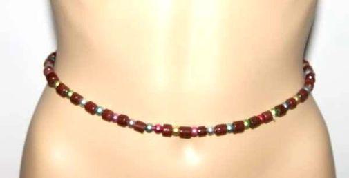 Ceinture de séduction en perles CEPE14a