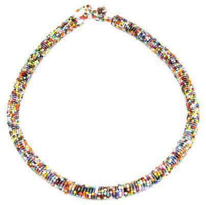 Coiffe de tête en perles