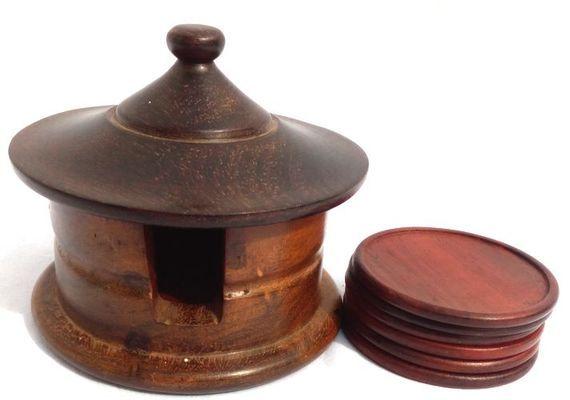 Boîte et sous tasses 1208-B