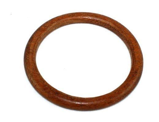 Bracelet artisanal en bois acajou