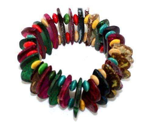 Bracelet artisanal couleurs