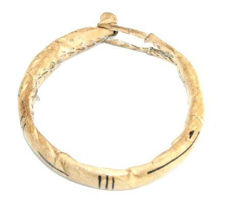 Bracelet artisanal cuir