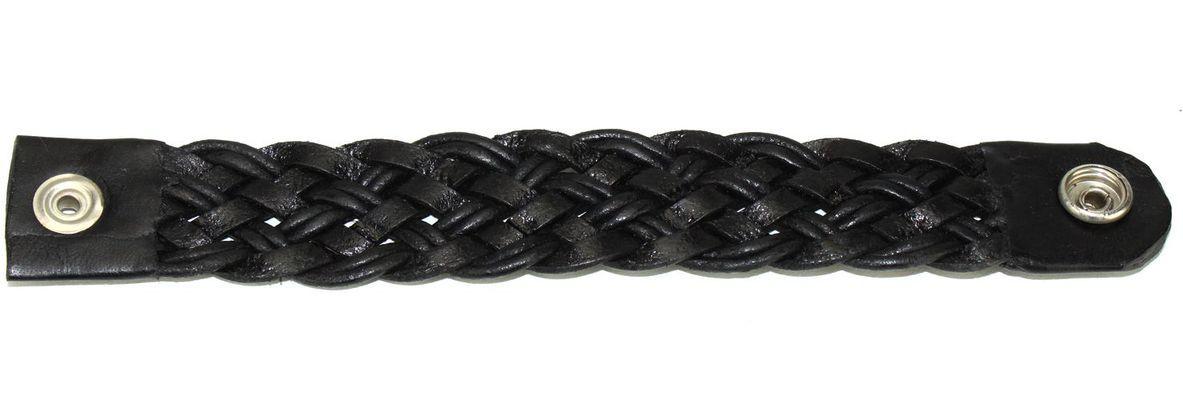 Bracelet artisanal tressé en cuir