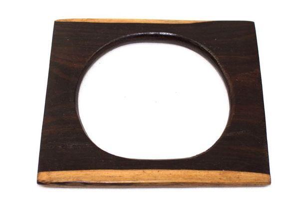 Bracelet artisanal en bois ébène