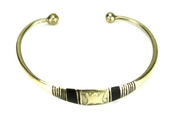 Bracelet artisanal en nickel BA1