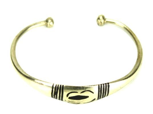 Bracelet artisanal en nickel BA4