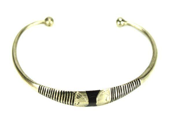 Bracelet artisanal en nickel BA5