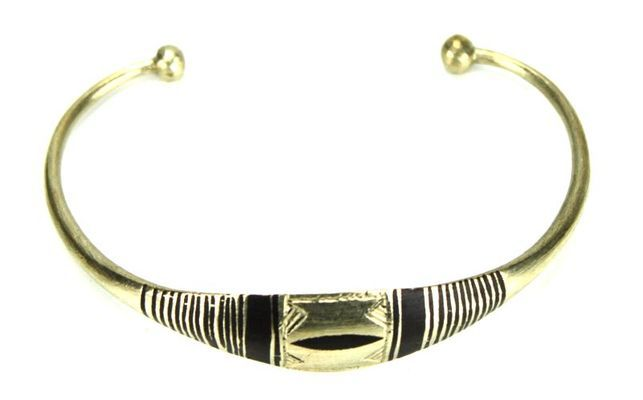 Bracelet artisanal en nickel BA7