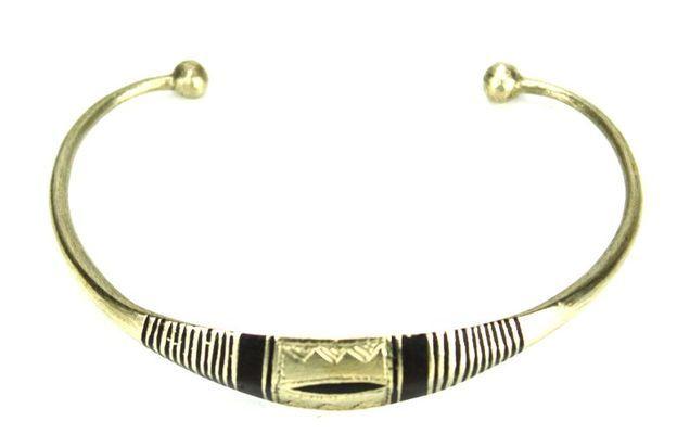 Bracelet artisanal en nickel BA8