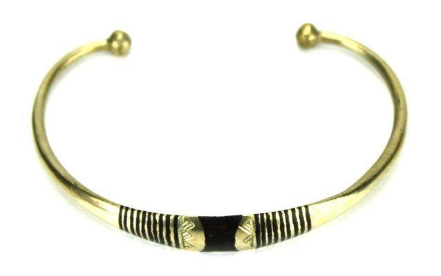 Bracelet artisanal en nickel BA11