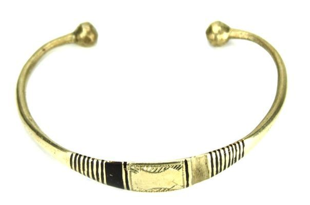Bracelet artisanal en nickel BA12