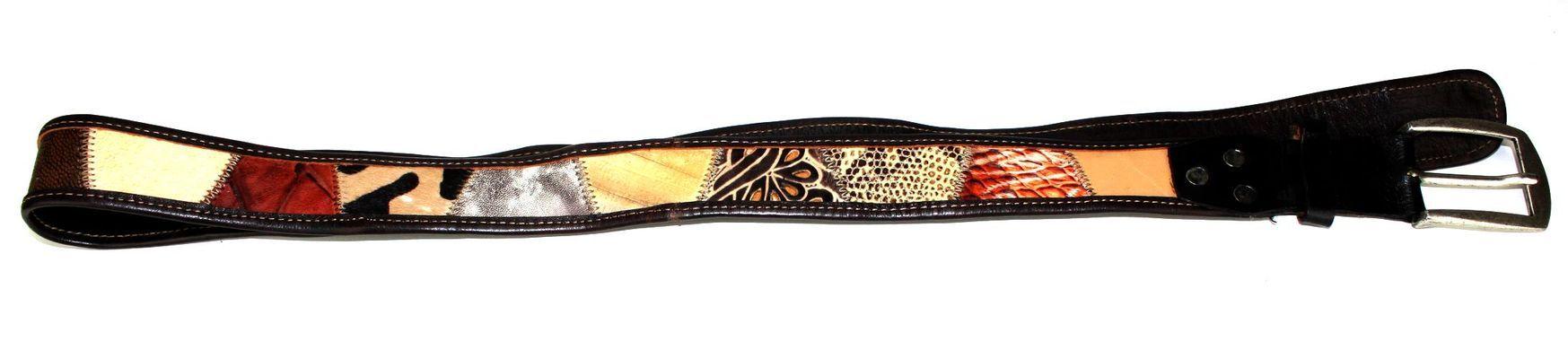 Ceinture artisanale en cuir