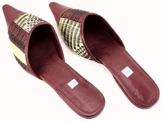 Chaussure nattées  Sénégal 4076-BX-108