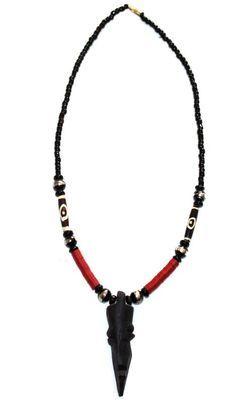 Collier artisanal en perles