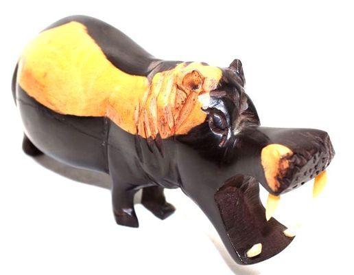 Hippopotame en ébène HYE1