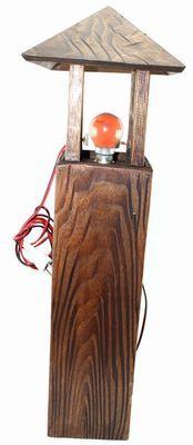 Lampe africaine sur pied-7957