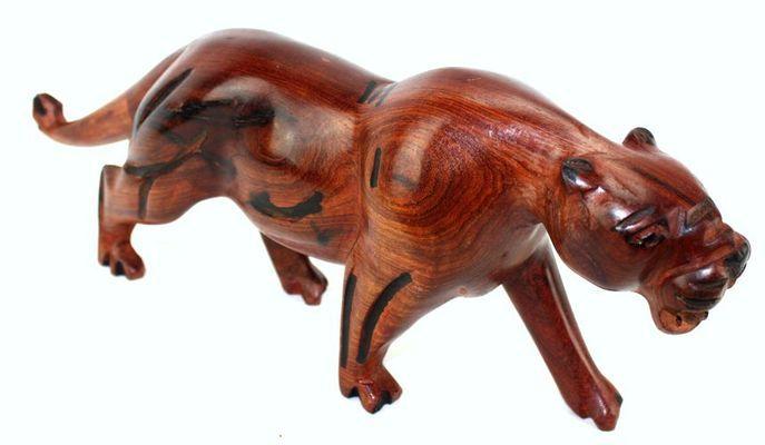Lionne en bois 6401S4X-553-A