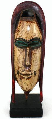 masque passeport sur socle 6520-S6V-1810