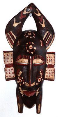 Masque Sénoufo 6526-S6V-1810