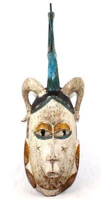 Masque gouro ancien de côte d'ivoire-7840