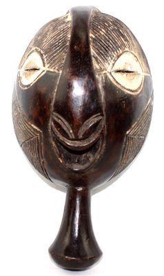 Masque Senoufo ancien de côte d'ivoire-7838