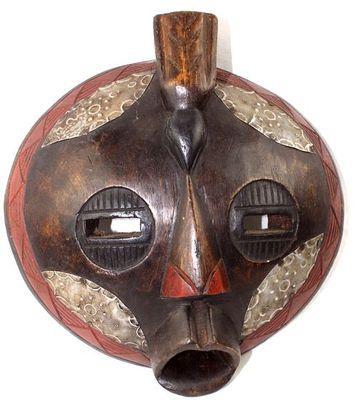 Masque Luba du Congo