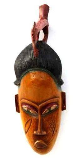 Masque Gouro ancien MAGJ-C1