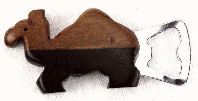 Ouvre bouteille manche en bois ébène OBMB1
