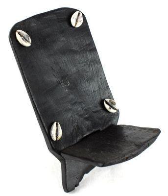 Chaise à palabre miniature avec caurie-Pose objets