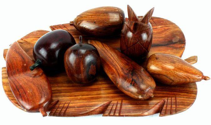 Plateau de fruits en bois PFB1