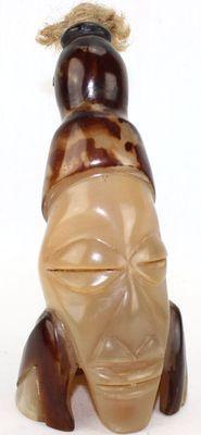 Figurine. Corne bovine sculptée décorative 6462-S4X-523