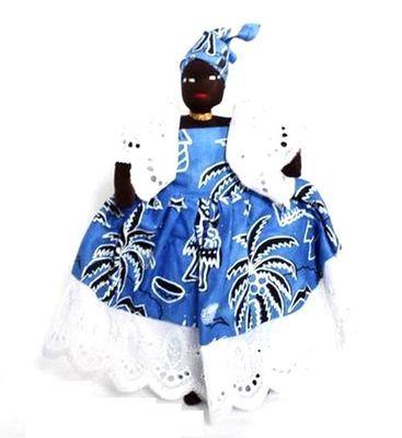 Poupée africaine du Sénégal