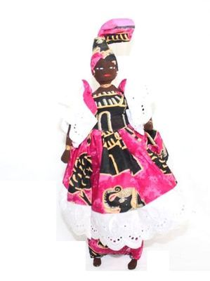 Poupée africaine PSN4