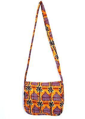 Sac bandoulière du Sénégal en tissus