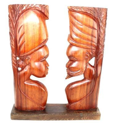 Statuette africaine Couple