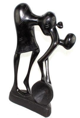 Statuette  paysanne avec son bébé SFE1
