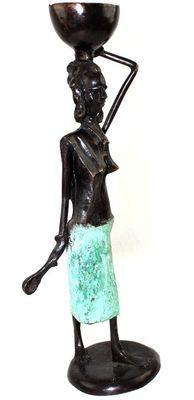 Statuette métalique