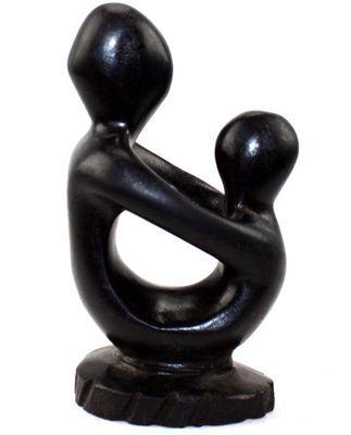statuette Macouba mère-enfant-7750
