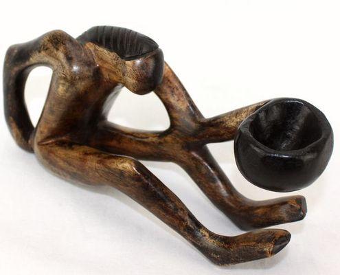 Statuette en bois 3140-AX-121