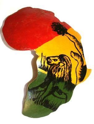 Peinture sur calebasse découpée CSC4
