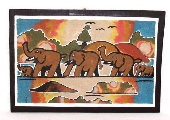 tableau art sable 3853-AX-334