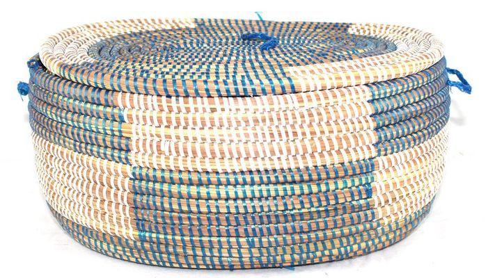 corbeille en paille tressée 1610-A