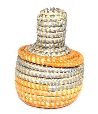 boîte bijoux en paille tressée 1687-A