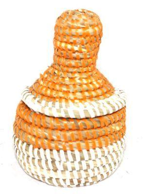 boîte bijoux en paille tressée 1721-A