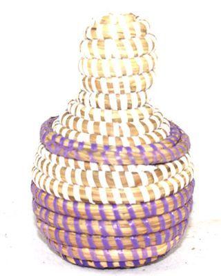boîte bijoux en paille tressée 1730-A
