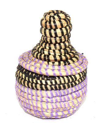 boîte bijoux en paille tressée 1731-A