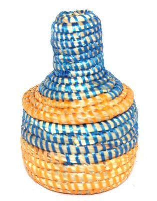 boîte bijoux en paille tressée 1735-A