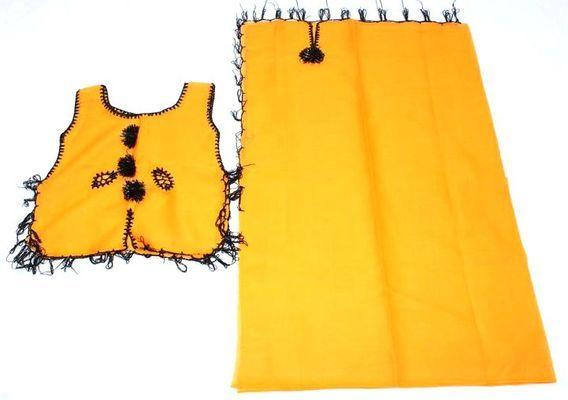 Ensemble séduction jaune  haut et pagne 4655-BX-268